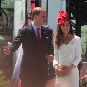 William e Kate coppia d'oro